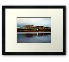 Over The Causeway Framed Print