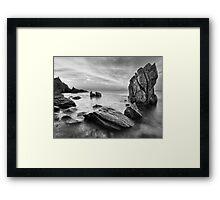 The Timeless Shore Framed Print