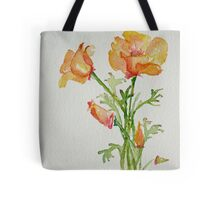 Bunch of California Poppies Tote Bag