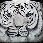 White Tiger Charcoal by zoyi