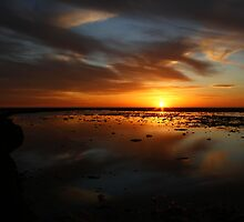 Sunset over the Rota Corrales by fototaker