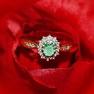 Real Emerald and Diamond Ring  by AnnDixon