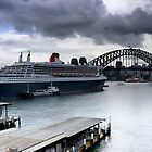 Queen Mary 2 | Circular Quay | Sydney 2012 by Bill Fonseca