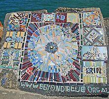"""Beyond Blue""  Mosaic by George Petrovsky"