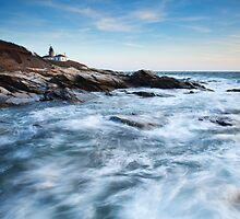 Beavertail Lighthouse by Eric Full