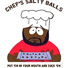 Chef's Salty Balls by inkDrop