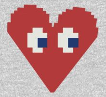 Pixelated Heart by DecayAllDay
