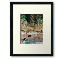 Salmon Creek.... Framed Print