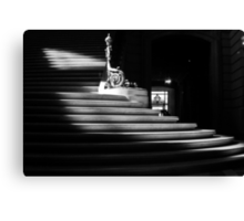 The light on the stairs of power – San Francisco City Hall Canvas Print