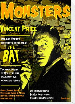 Monster Magazine Vincent Price by John Garcia