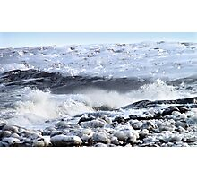 Breakers on the Shore Photographic Print