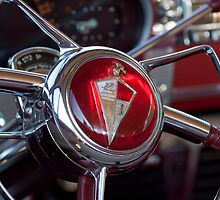 1954 Hudson Steering Wheel by Jill Reger