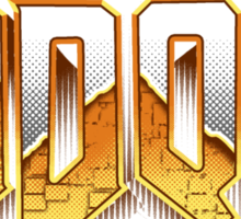 IDDQD GOD MODE 2 Sticker