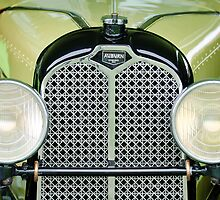 1929 Auburn Carbiolet Convertible  by Jill Reger