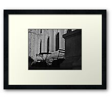 New York Public Library | Seating Framed Print