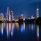 Surfers Paradise Night by D Byrne