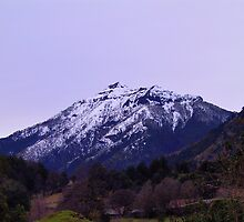 mountain in chile by Daidalos
