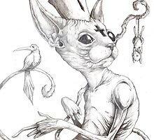 Cat-holisism by Shawn Coss