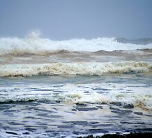 North Jetty Storm Waves by Loisb