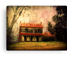 The House at Sleepy Hollow Canvas Print