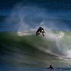Ben Player Back Flip Shark Island by Andrew  MCKENZIE