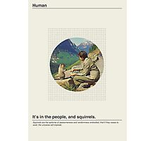 Human / Squirrel. Photographic Print