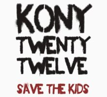 Kony T-Shirt - Save the Kids by KonyTshirts