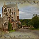 Delgatie Castle, Folly Wall (near Turriff, in Aberdeenshire, Scotland) by Yannik Hay