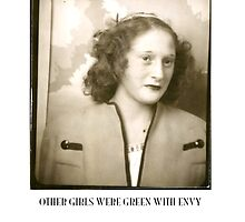 Other Girls Were Green With Envy by Walter  Plotnick