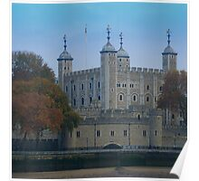 Tower of London - Traitors' Gate Poster