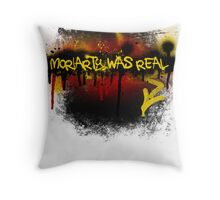 Moriarty was real (fire) Throw Pillow