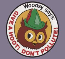 Woodsy Owl  by BUB THE ZOMBIE
