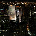 Manhattan at Night by brianhardy247
