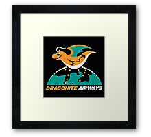 Dragon Airways Framed Print