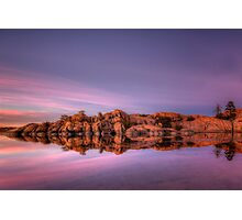 Approaching Dusk-Wide Photographic Print