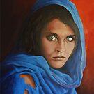 Afgan Girl by eric shepherd