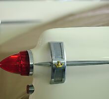 1959 Chrysler Imperial Convertible Taillight by Jill Reger