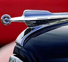 1949 Packard Hood Ornament by Jill Reger