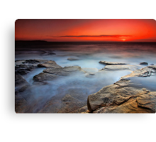 Dee Why Sunrise Canvas Print