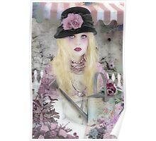 Marchand de Fleurs Poster