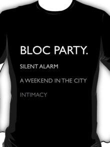 Bloc Party Albums T-Shirt
