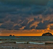 Costa Rica. Manuel Antonio NP. Sunset. by vadim19