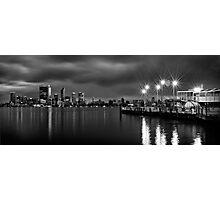 Perth City Skyline Photographic Print