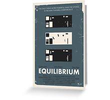 Equilibrium Poster Greeting Card