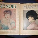 brought 2 x art books: Renoir/Manet -(100212)- digital photo by paulramnora