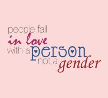 fall in love with a person, not a gender by nicwise
