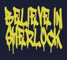 Believe in Sherlock Kids Clothes