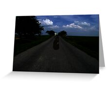 Highway Ghost Greeting Card