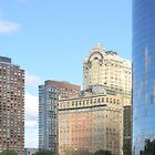 reflections in New York by jackmiller