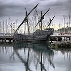 "The ""Notorius"" Caravel  ( 2 ) Yardarms by Three. by cullodenmist"